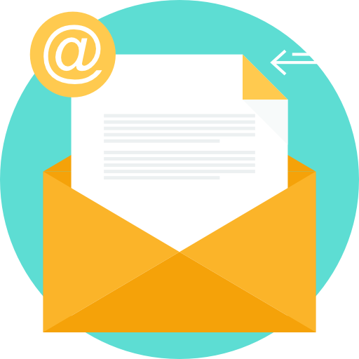 Email envelope icon